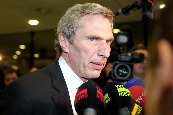 De advocaat van Kim De Gelder, Jaak Haentjes.