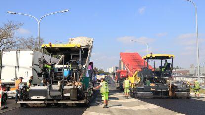 Asfalteringswerken op N16 brengen veel verkeershinder met zich mee, maar werken verlopen zeer vlot