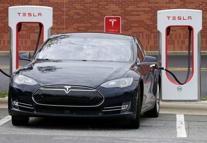 De nieuwe accu zou vier keer krachtiger zijn dan die van Tesla Model 3