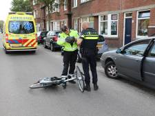 Fietser naar ziekenhuis gebracht nadat automobilist deur opent