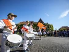 Vaandelzwaaien in Geesteren: een traditie