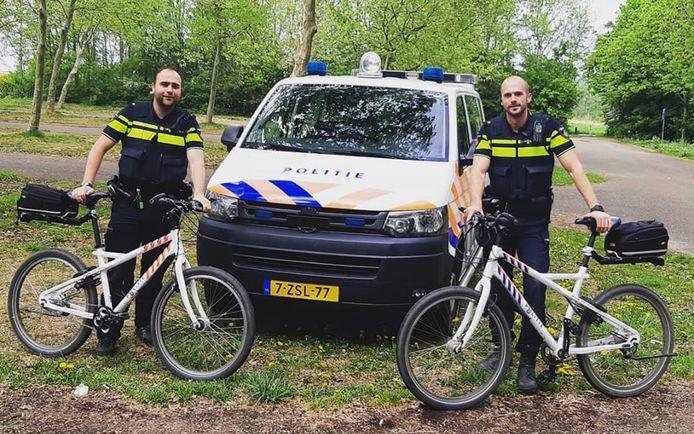 Wijkagenten Beek en Ooijpolder Pieter Koolhout en Coen de Vos