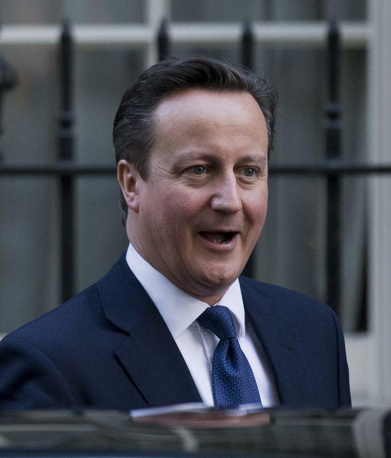 De Britse premier David Cameron. Beeld null