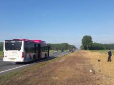 Pech onderweg voor de bus van Nijmegen naar Druten
