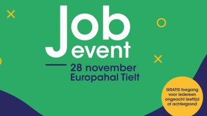 Jobbeurs met 48 bedrijven in Europahal