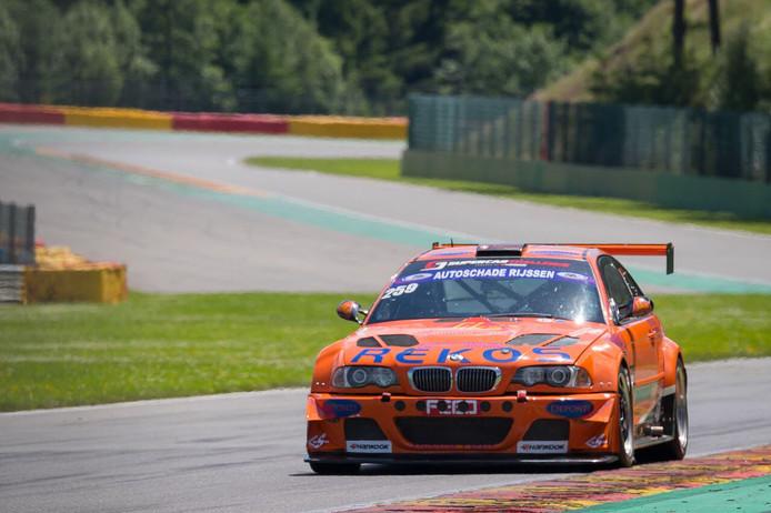 Het BS Racing Team werd in de eerste race op het circuit van Zolder tweede.