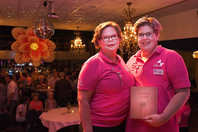 Marion Reefs (l) en Marlies Verstappen, de initiatiefnemers van Pinkmama.