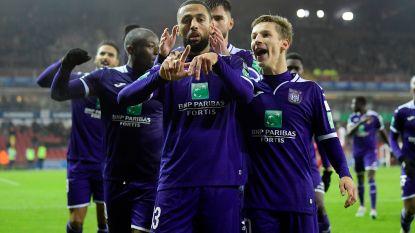 Anderlecht rukt op na moeizame uitzege op Essevee, Zulj maakt met assist flater voor tegengoal goed