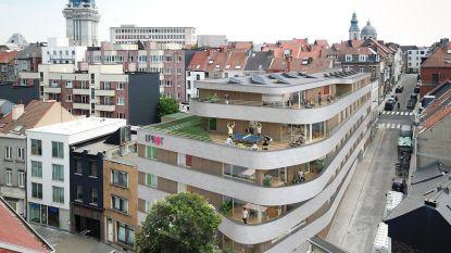 Studentencomplex verrijst aan Kortrijksepoortstraat