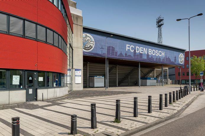 Stadion De Vliert, de thuisbasis van FC Den Bosch.