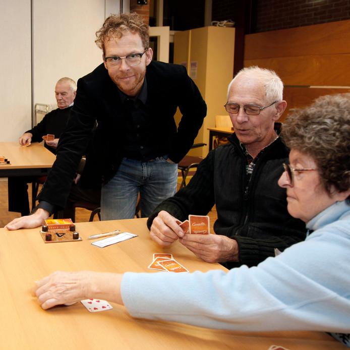 Aschwin van den Abeele (links).