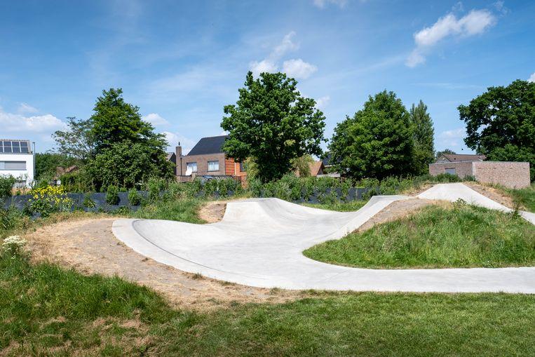 Het skatepark achter het gemeentehuis van Sint-Katelijne-Waver
