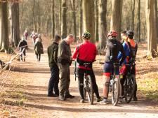 Boetes van 105 euro voor drie mountainbikers