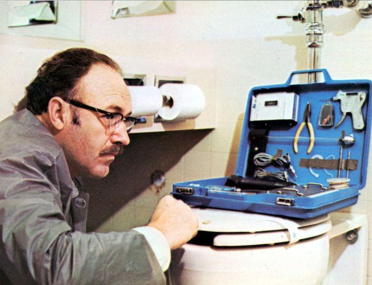 Gene Hackman in The Conversation. Beeld Archivesdu7eArt/DR