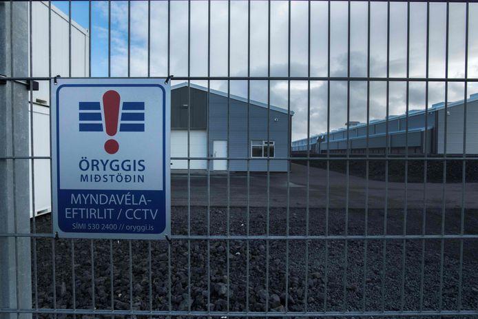 Een bitcoinfabriek in IJsland.