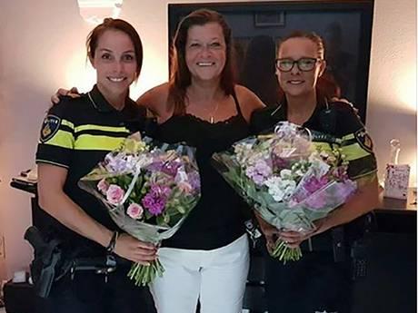 Hellevoetse bedankt politie voor redden van haar leven