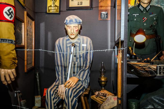 Een plunje van een gevangene in een concentratiekamp.