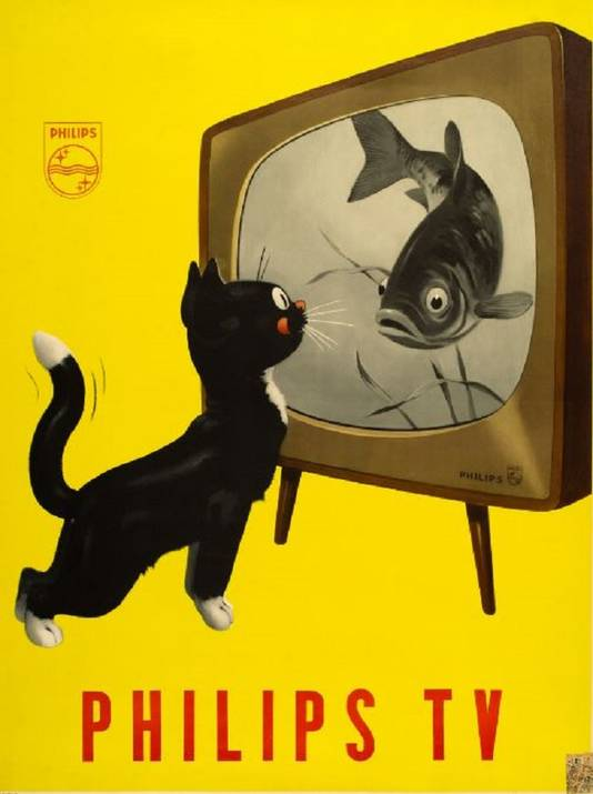 Jan Wijga: Philips TV 1951