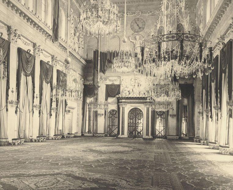 De Grote Ontvangstzaal van het Koninklijk Paleis. Beeld Koninklijke Verzamelingen, Den Haag
