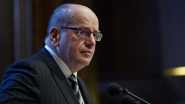 Staatssecretaris Fred Teeven van Veiligheid en Justitie zag vorige week geen reden om de Afghaanse tolk Abdhul Ghafoor Ahmadzai in Nederland te laten blijven. Beeld anp