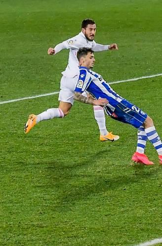 Een goal in de stijl van het huis: Hazard en Real kruipen een beetje uit het dal
