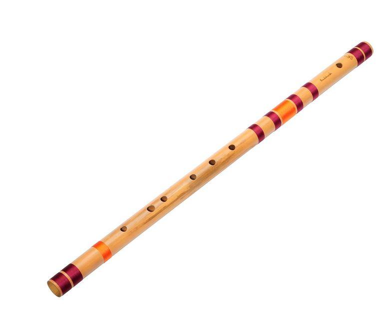Bansuri (bamboefluit). Beeld