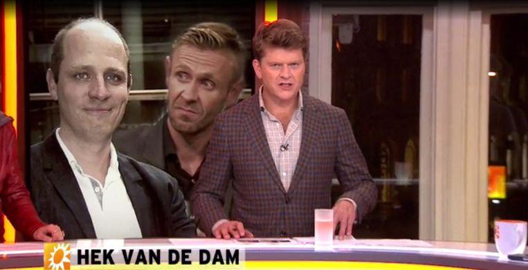 Jelle Brandt Corstius in RTL Boulevard. Beeld