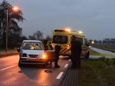 Aanrijding tussen tractor en auto in Nieuwleusen: vrouw gewond