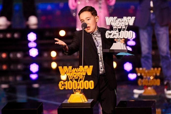 Silver werd tweede en ontving 25.000 euro