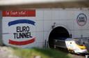 Ruim 4500 vrachtwagens reizen dagelijks van Nederland door de Eurotunnel naar het VK.