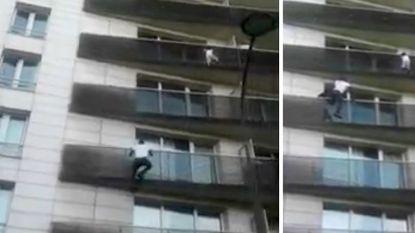 Vader van kind (4) dat aan balkon bengelde in Parijs veroordeeld tot drie maanden voorwaardelijke celstraf