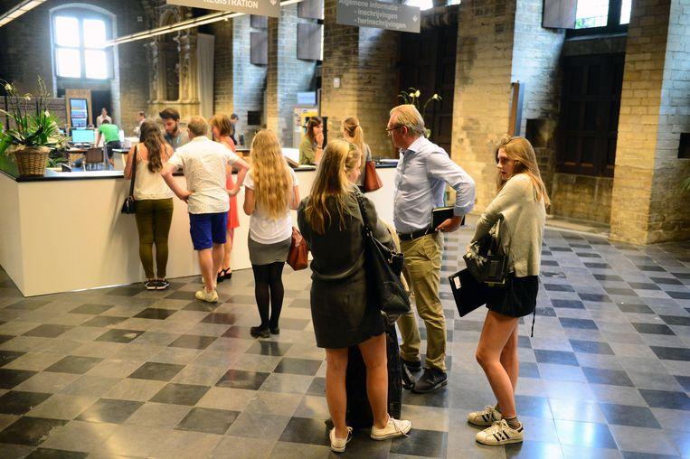 Steeds meer buitenlandse studenten vinden de weg naar de KU Leuven.