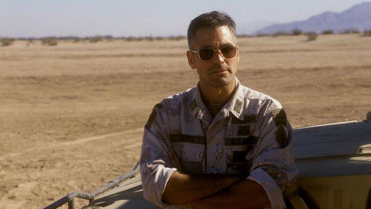 George Clooney in Three Kings. Beeld