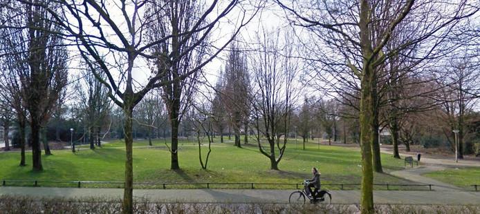 Het groenewoudpark in Tilburg.
