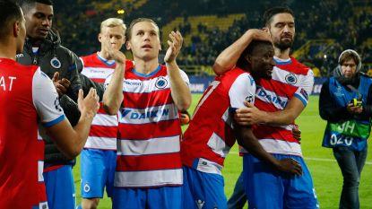 Vijf knappe punten telt Club vandaag. En straks volgt nog een toetje, thuis tegen Atlético. Een galawedstrijd. Dat verdien je, als je zo presteert in Europa