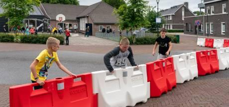 Hek voor spelende kinderen wijkt alleen voor evenementen