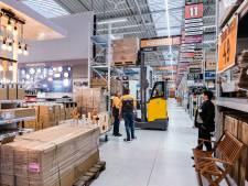 Hornbach najaar 2021 open op plek van Americahal in Apeldoorn
