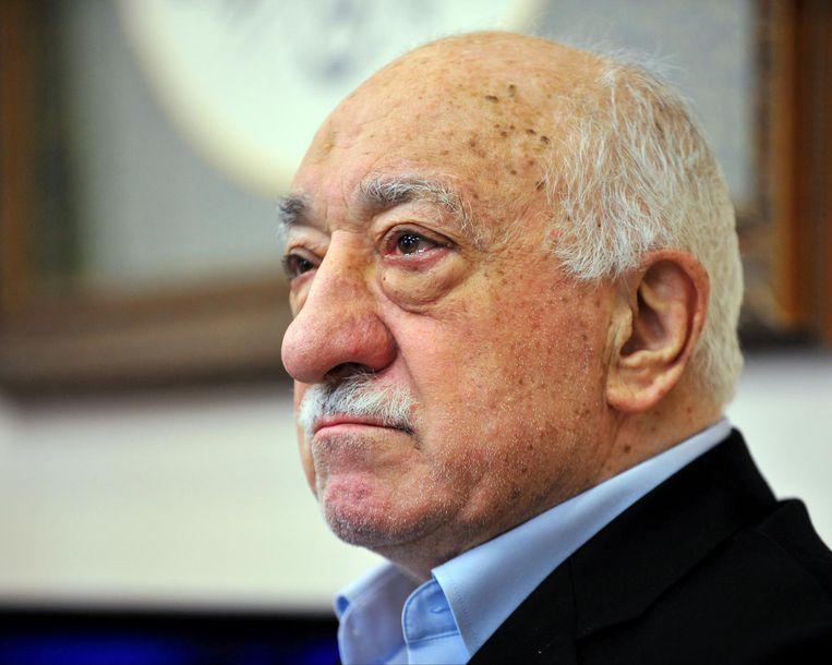 Fethullah Gülen, die door de Turkse president Erdogan wordt beschuldigd van de staatsgreep in Turkije. Beeld ap