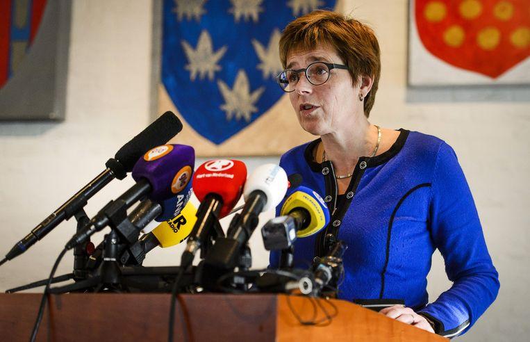Burgemeester van Geldermalsen De Vries. Beeld anp