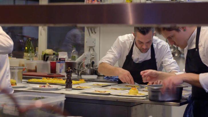 The Chef's Line - Restaurant Mario