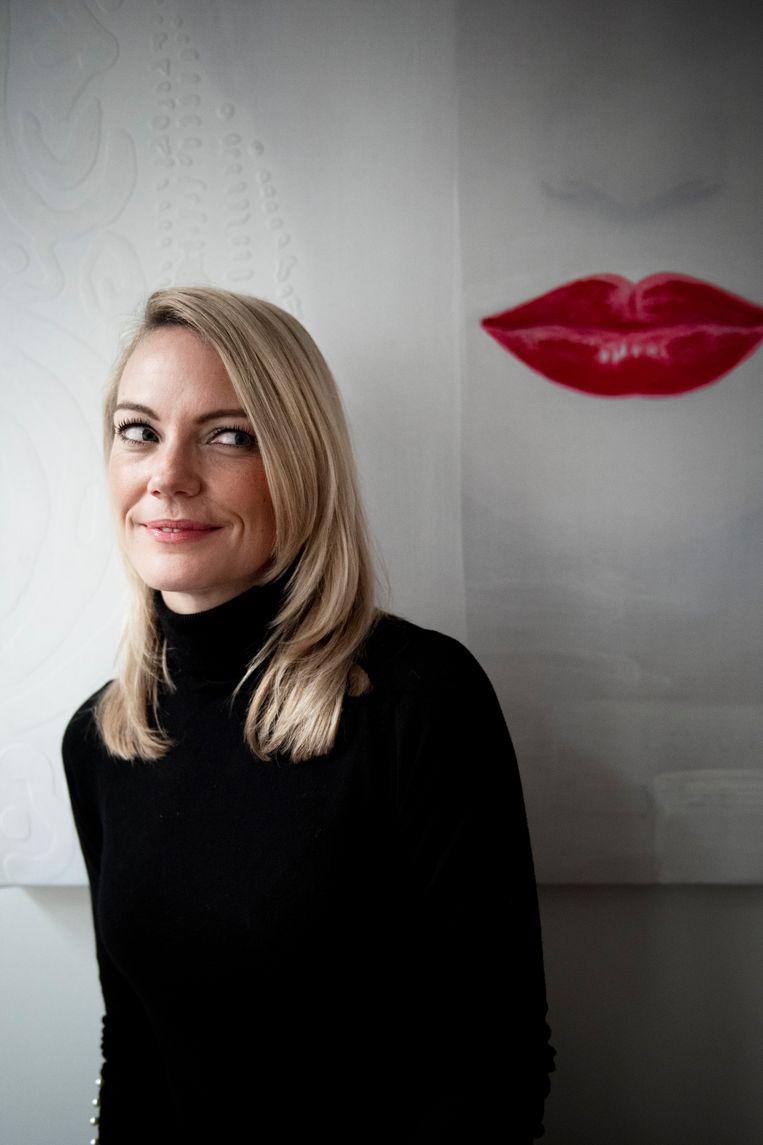 Carolien Linnemann, leefstijlcoach: 'Ik zal nooit zeggen dat je nooit meer iets mag eten.'  Beeld Kiki Groot