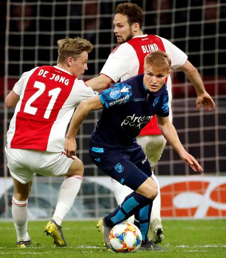 Clubs staan in de rij voor Ødegaard; ook Ajax