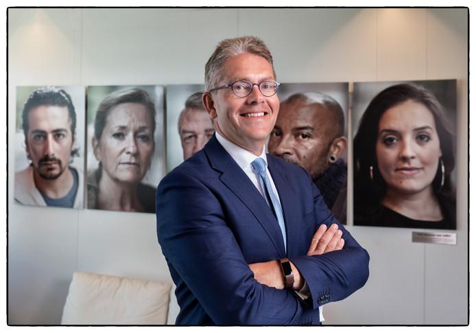 Fred Paling, de nieuwe baas van het UWV.