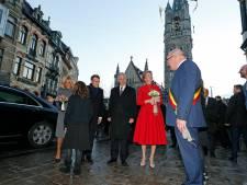 Draconische maatregelen, fans en betogers voor bezoek Macron en het vorstenpaar