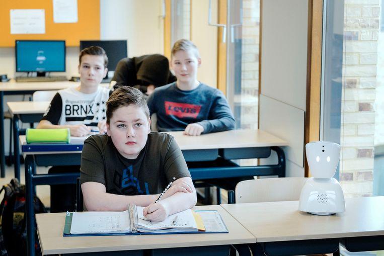 De Kei in Breda, een school voor speciaal onderwijs. Beeld Merlin Daleman