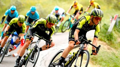 Ook Simon Yates sloeg tegen het asfalt maar kon averij beperken, voor Navarro zit de Giro erop