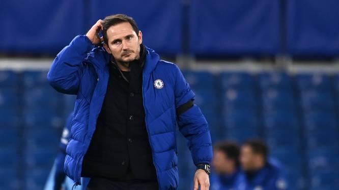 Lampard onder vuur bij Chelsea: slechtste coach in tijdperk Abramovich
