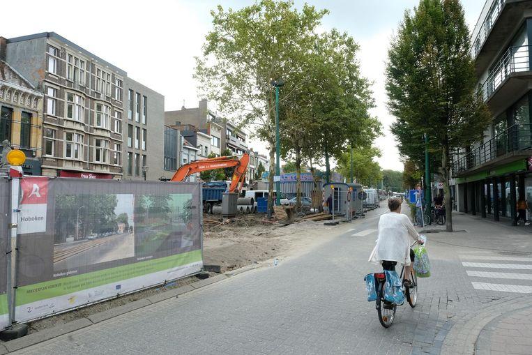 Er zijn momenteel volop werken aan de gang om het centrum van Hoboken meer te doen bruisen.