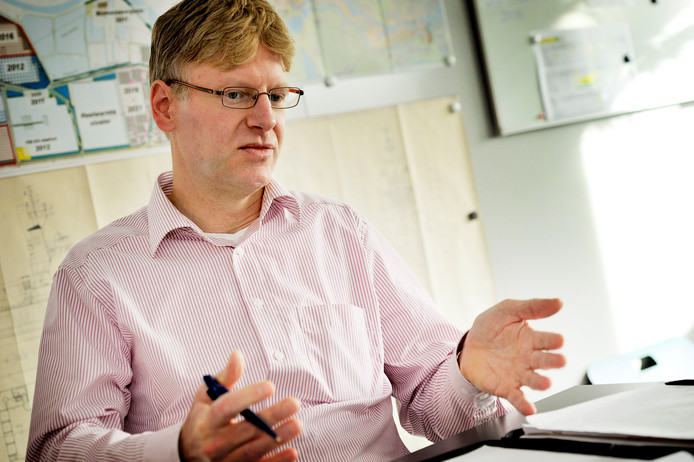 De Steenbergse ex-wethouder Vincent van den Bosch.