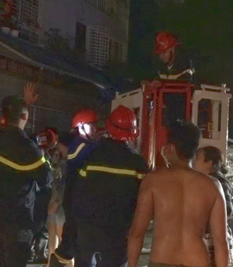 Zeker dertien doden na brand in flatgebouw Ho Chi Minhstad